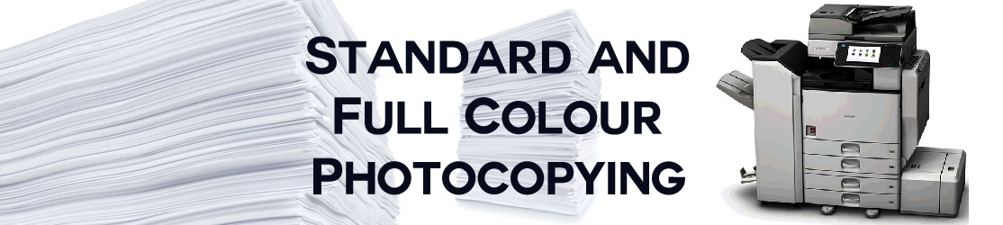 Full Colour And Black And White Photocopying Service