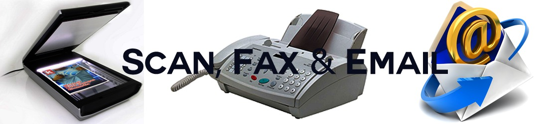 Scan, fax and email services provided by BPRCVS