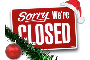 BPRCVS Closed For Christmas