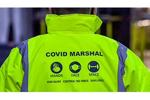 Covid-19 Marshals Urgently Needed