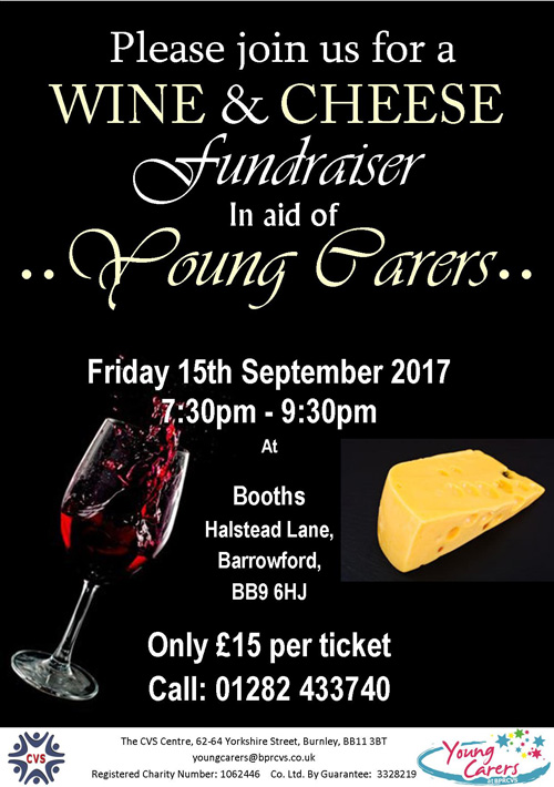 Wine & Cheese Evening Fundraiser