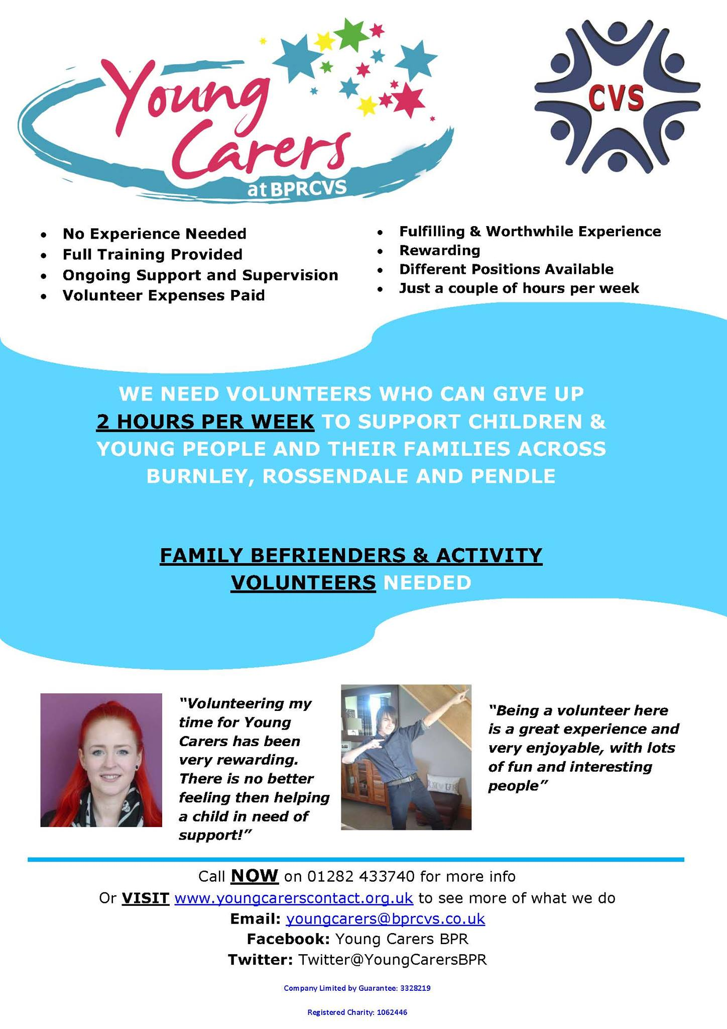 Young Carers Activity Volunteers